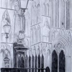 York Minster (graphite)