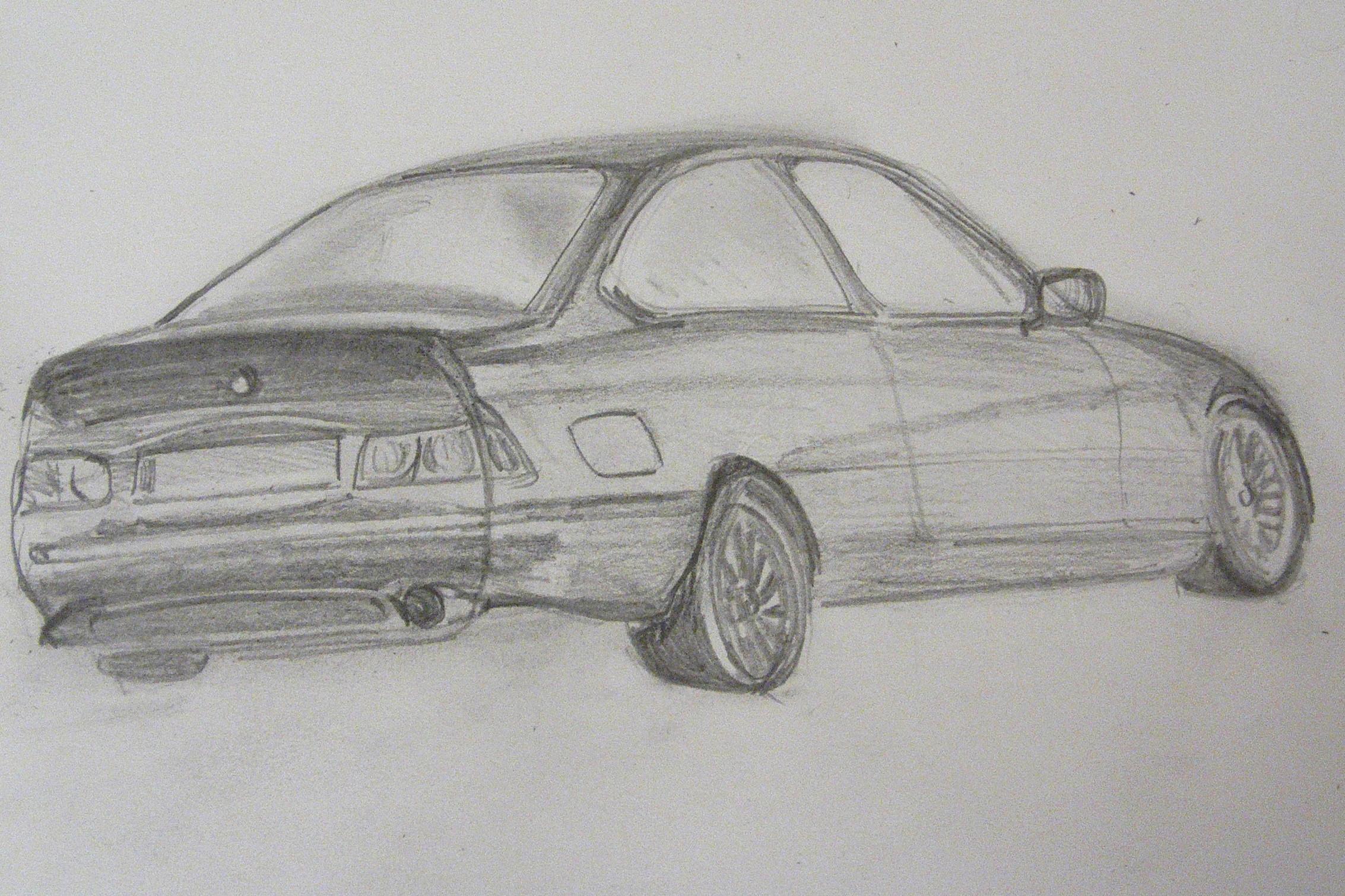 Drawing of car parking - Richard North