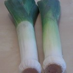 Two leeks