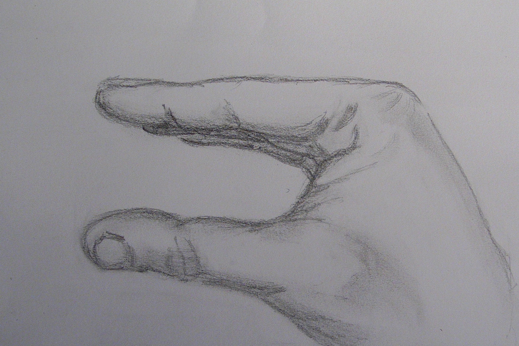creative hands drawing